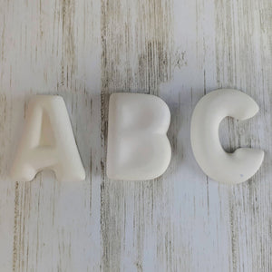 Alphabet Letter Flat Toppers