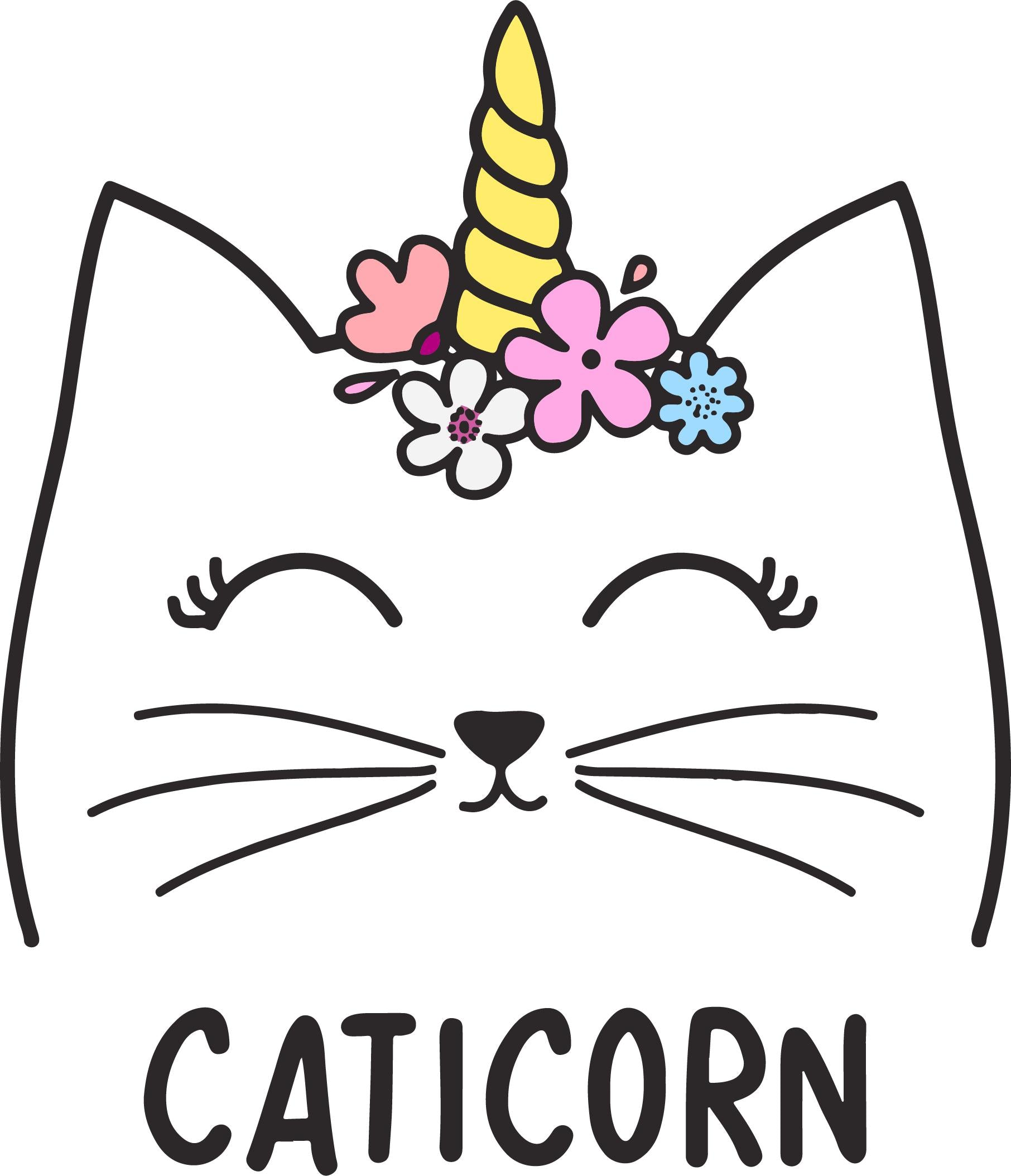 Caticorn Vinyl Cut Out