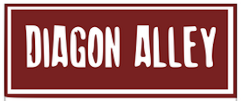 Diagon Alley Vinyl Cut Out, Rectangle
