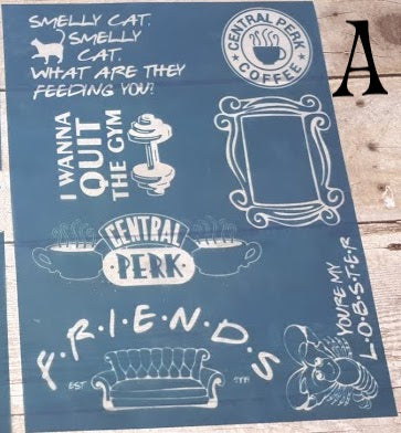 """Friends"" Silkscreens"