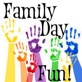 Family Day Fun, NO appointment needed!