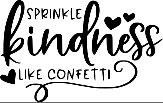 Sprinkle Kindness Wood Art