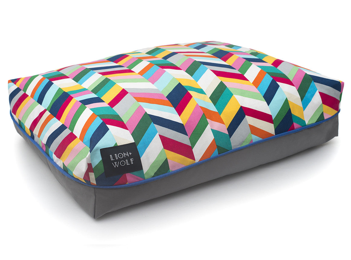 chevron cat bed modern cat beds from lion wolf
