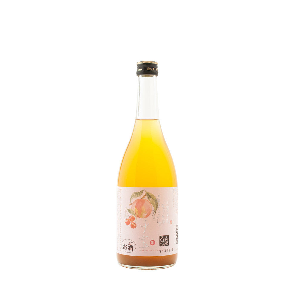 Fruit Sake Kodakara Peach Cherry 720ml