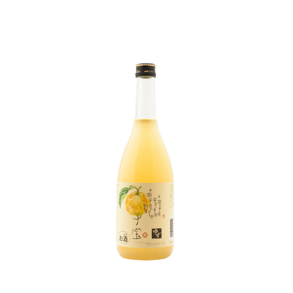 Fruit Sake Kodakara Yuzu 720ml