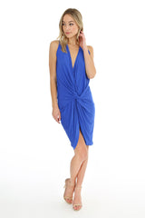 Draped Twist Dress