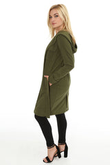 Long Hooded Military Coat