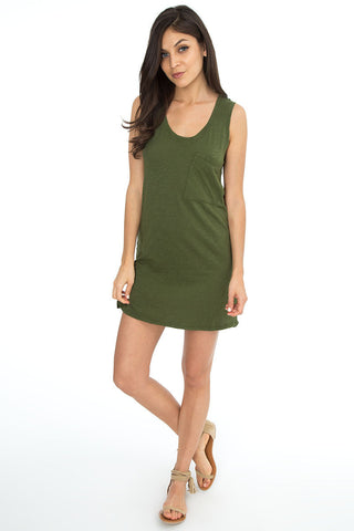 Notched Hem Tunic