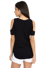 Cold Shoulder Tee