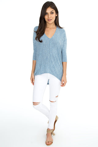 Off Shoulder Thermal Top