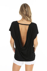 Draped Back Top
