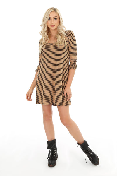 Roll Sleeve Tunic