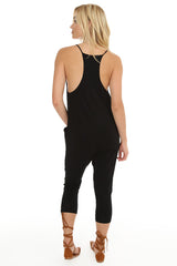 RACER BACK POCKET JUMPSUIT