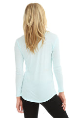 Long Sleeve Boyfriend Pocket Tee