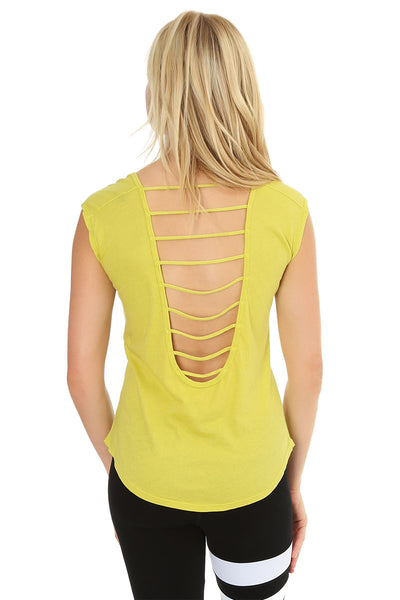 Low Strappy Back Tank