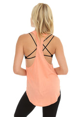 Low Armhole Racer Back Tank