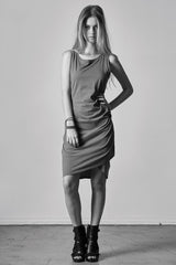 SURPLUS RUCHED DRESS - bobi Los Angeles
