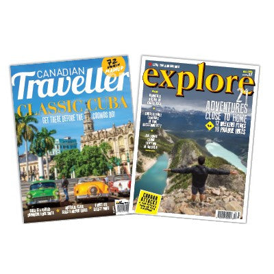 Explore and Canadian Traveller Combo