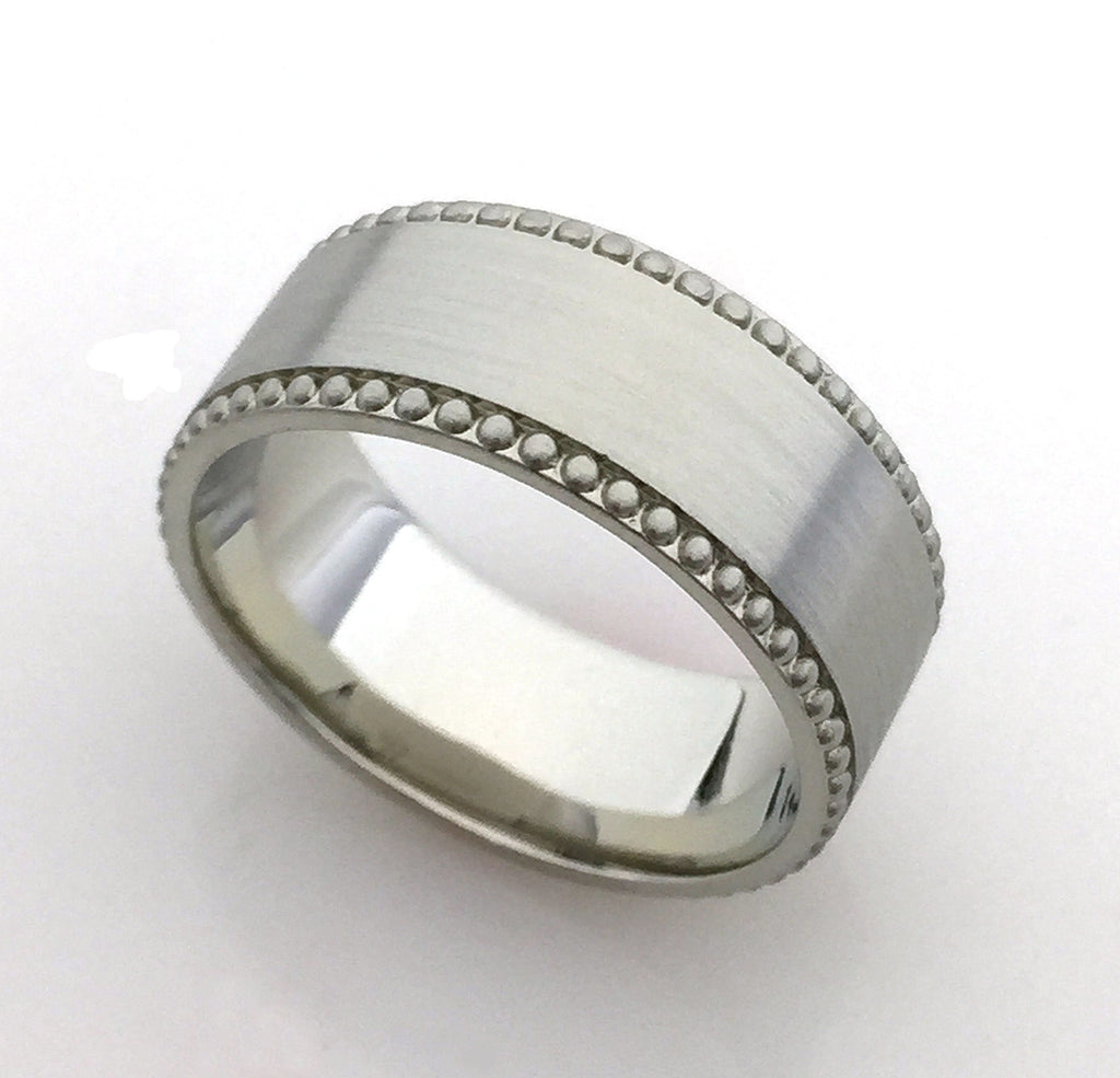 Bespoke Custom Design Men's Wedding Band