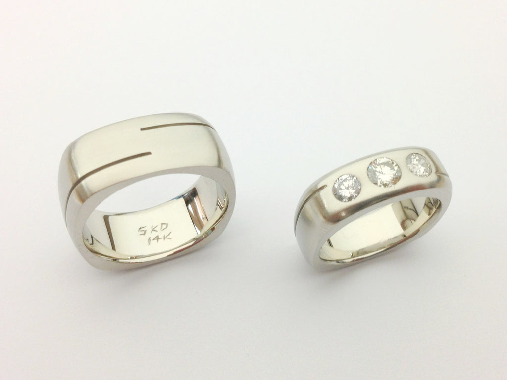 Bespoke One-of-a-kind Custom Design Wedding Bands