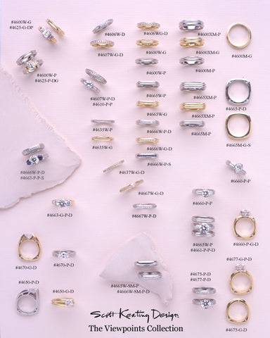 Viewpoints Collection Bold Bridal Sets