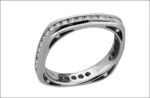 M. Women's Eternity Band #4667d-d-fl-L