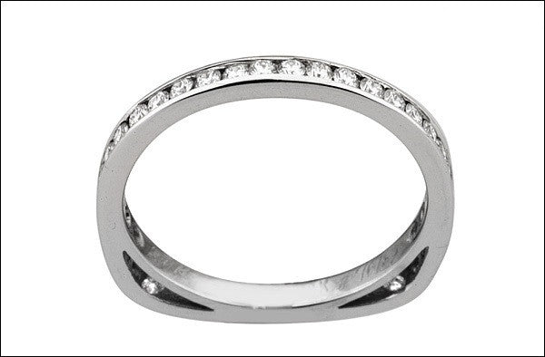 M.  Women's Wedding Band #4641.55wb-sm-d
