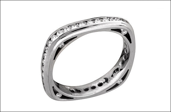 M. Women's Eternity Wedding Band #4667d-d-fl