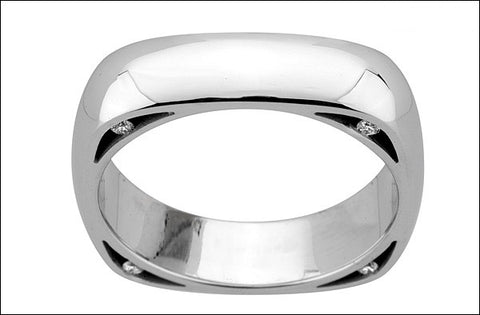 M.  Women's Wedding Band #4665XXW-sm