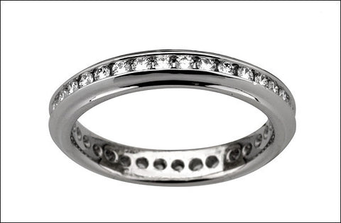 M.  Women's Eternity Band #4607