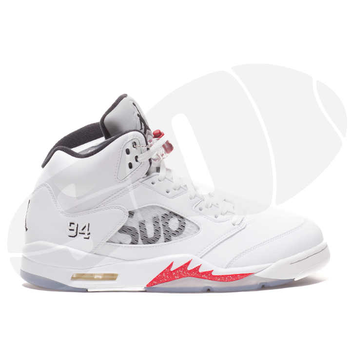 "AIR JORDAN 5 RETRO SUPREME ""SUPREME"""