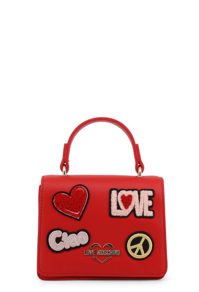 Love Moschino,Patch Bag, Angieberrys
