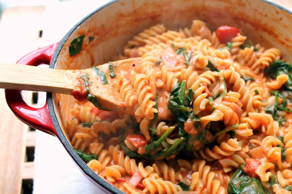 Spinach and Ricotta  / pasta (vegetarian)