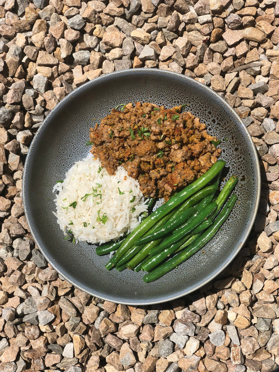 Lean Beef Mince with Basmati Rice