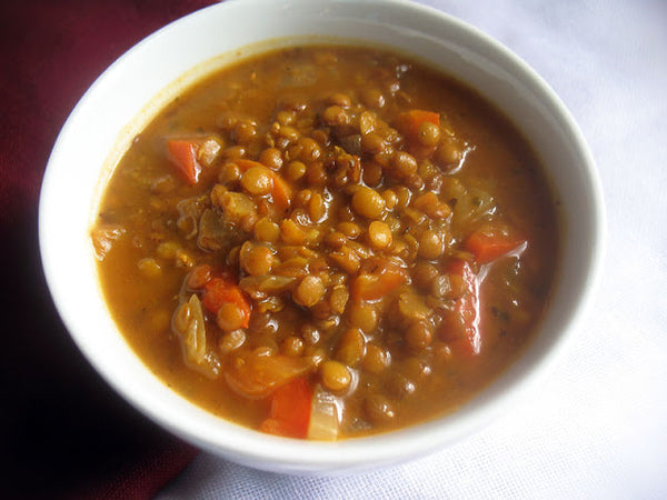 Vegan Greek Lentil Soup