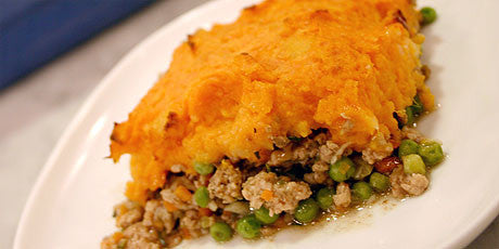 Beef Shepherds Pie with Sweet Potato