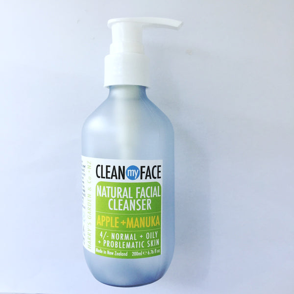 Clean MY face Natural Facial cleanser