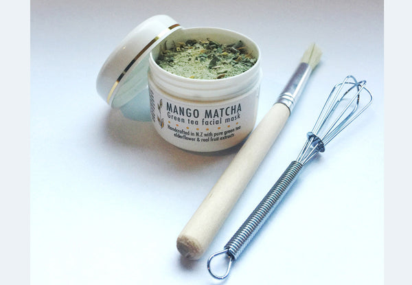 Mango Matcha Mask (wash off or peel off)