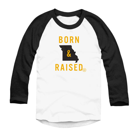 The Born & Raised Missouri Raglan