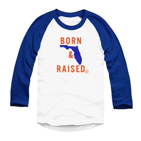 The Born & Raised Florida Raglan