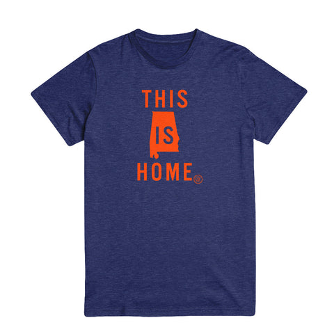 The This is Home Alabama Tee - Navy