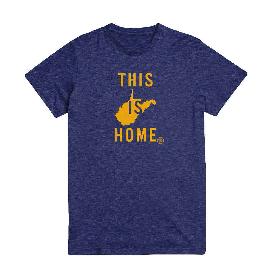 The This is Home West Virginia Tee