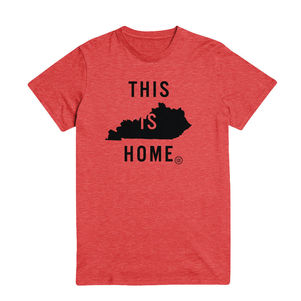 The This is Home Kentucky Tee - Red