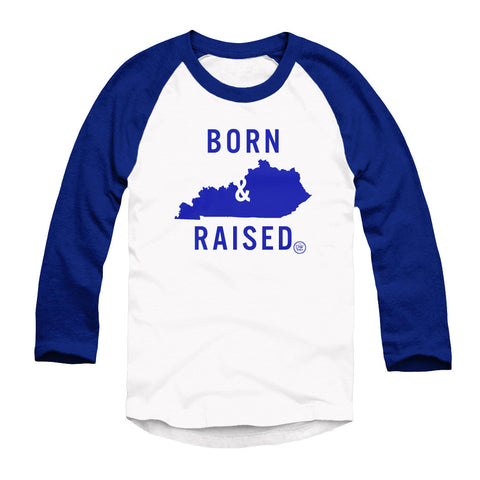 The Born & Raised Kentucky Raglan