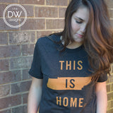 The This is Home Tee - Charcoal