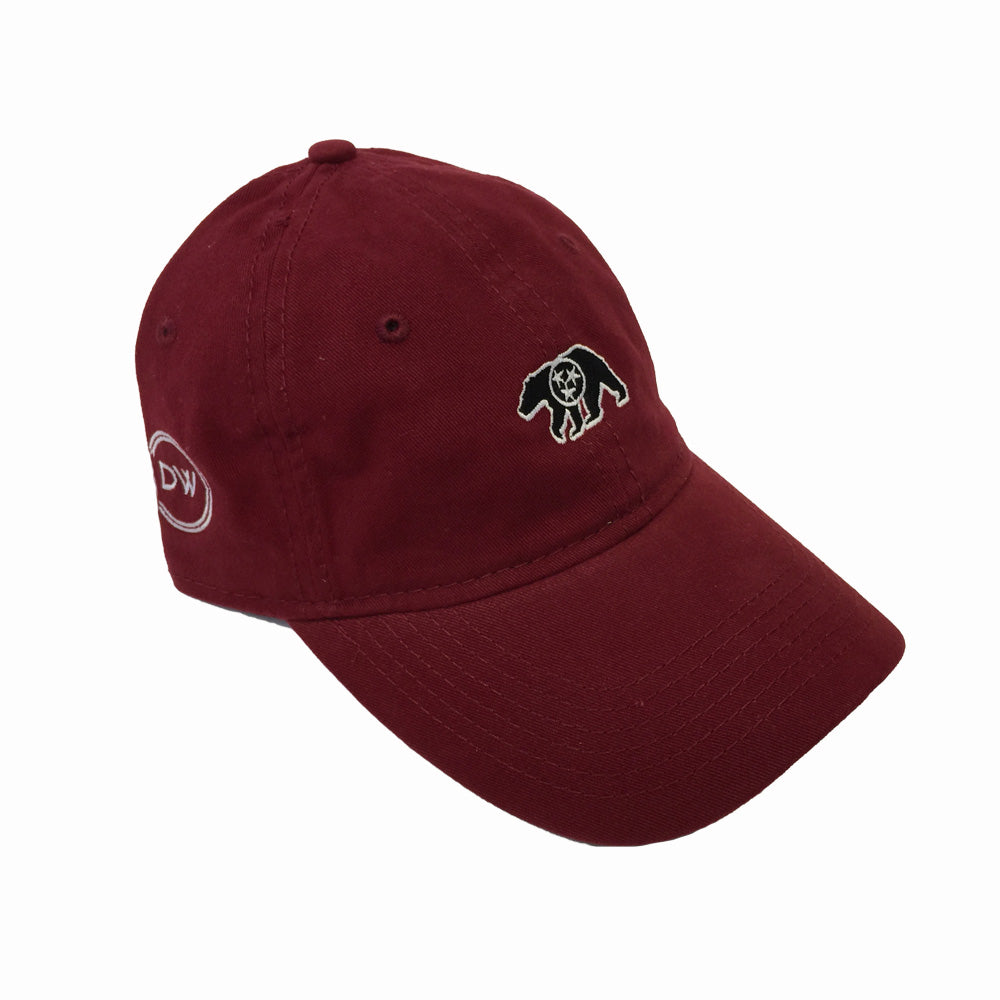 The Native Bear Hat - Maroon