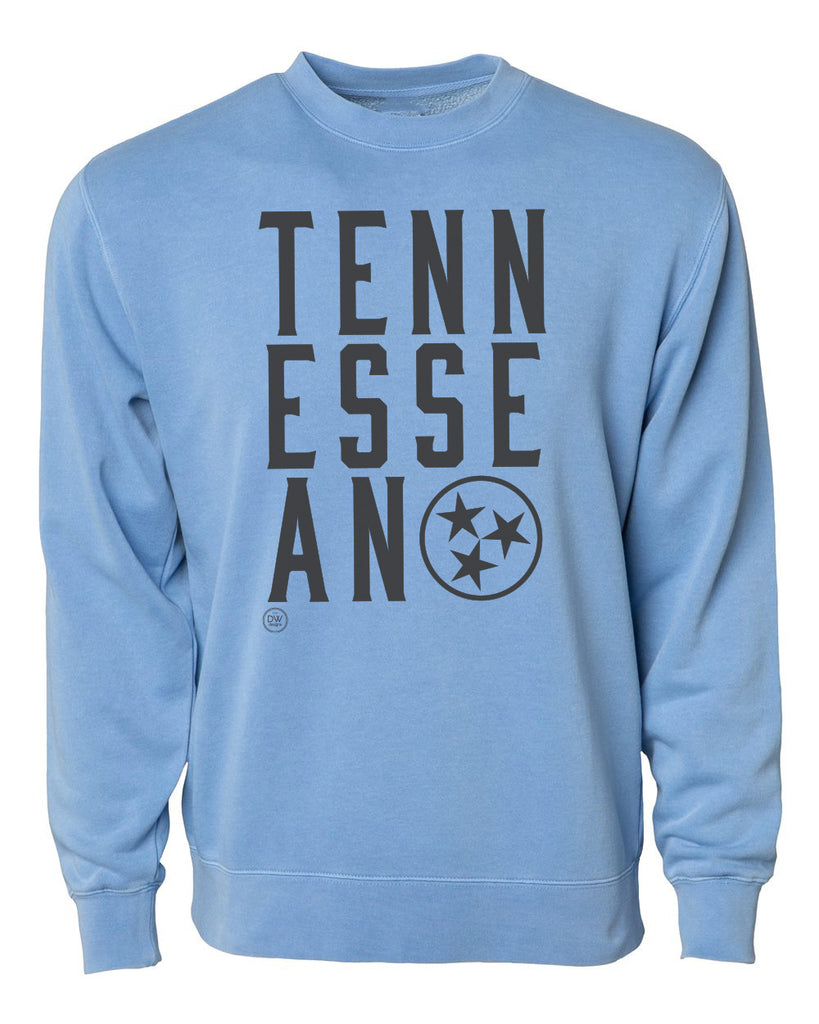 The Tennessean Sweatshirt - Light Blue