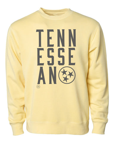 The Tennessean Sweatshirt - Yellow