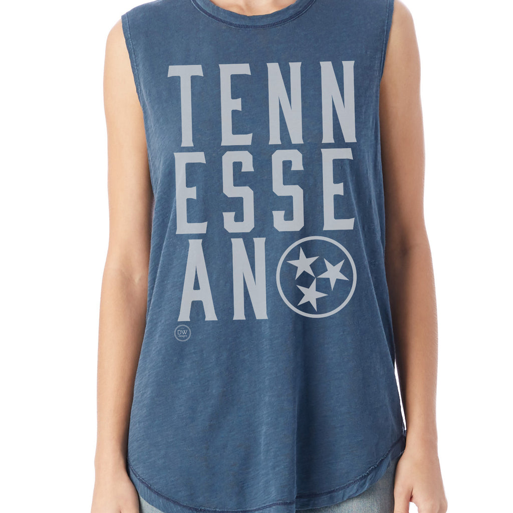 The Tennessean Women's Muscle Tank
