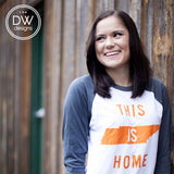 The This is Home Raglan